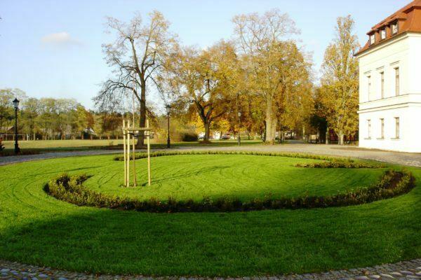 Ogród przypałacowy - Wiejce