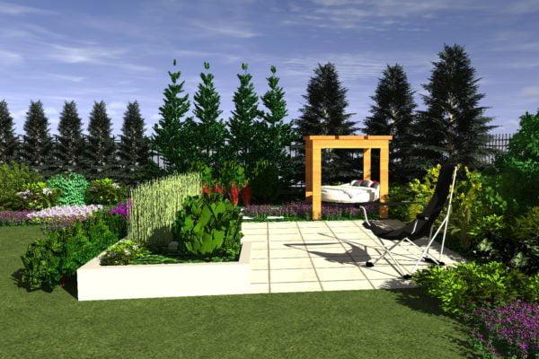 Ogród w Pobiedziskach