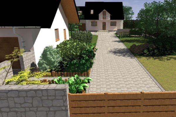 Ogród w Trójmieście
