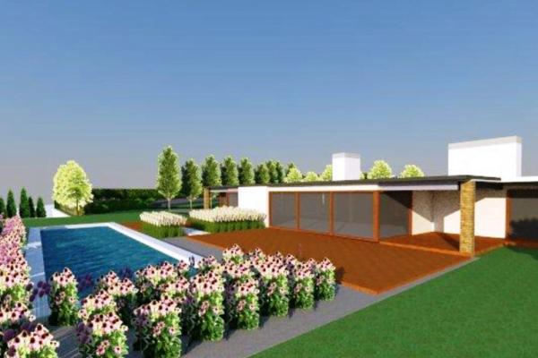 Ogród z basenem 4