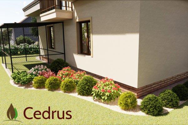 Ogród przy domu jednorodzinnym 24