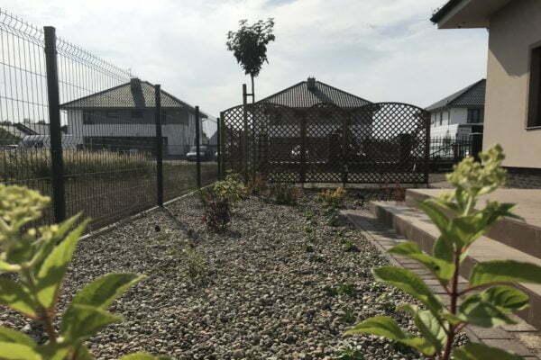 Ogród przy domu jednorodzinnym 6
